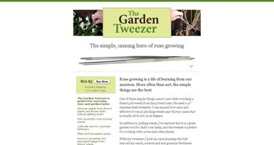 The Garden Tweezer