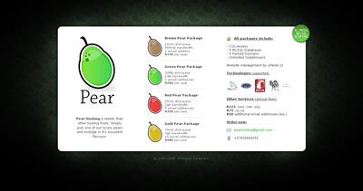 Pear Hosting