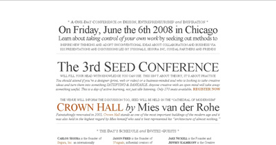 Seed Conference