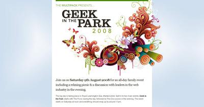 Geek in the park 2008