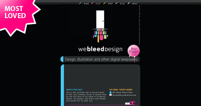 We Bleed Design