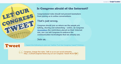 Let Our Congress Tweet!