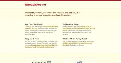 Enough Pepper