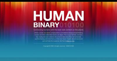 Human Binary