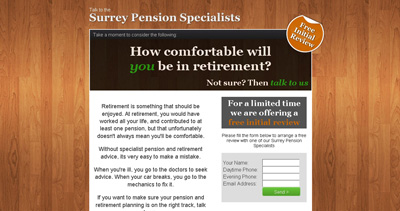 Surrey Pension Specialist