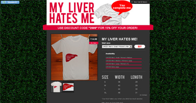 My Liver Hates Me