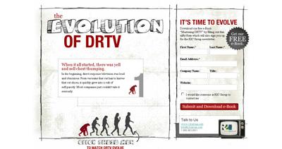 Evolution of DRTV