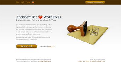 AntispamBee for WordPress