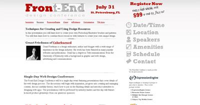 Front-End Design Conference