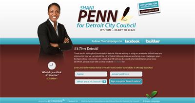 Shani Penn for Detroit