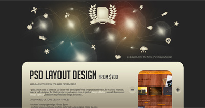 PSD layout design