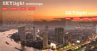 Skylight Thailand Webdesign