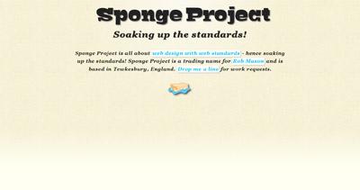Sponge Project