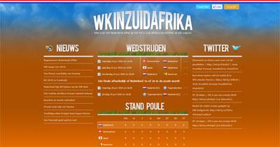 WK in Zuid-Afrika