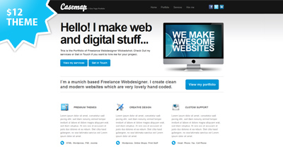 Casemap One Page Template Review
