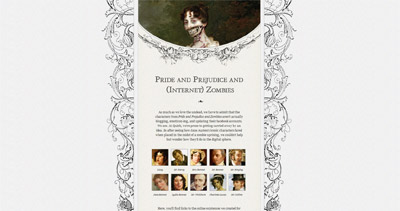Pride and Prejudice and (Internet) Zombies