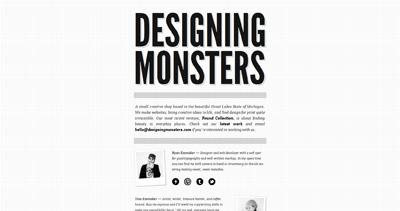 Designing Monsters