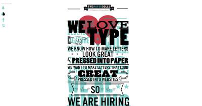 Two Paperdolls is hiring