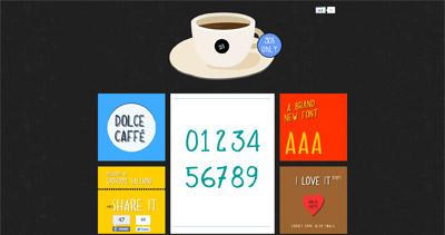 Dolce Caffè Font
