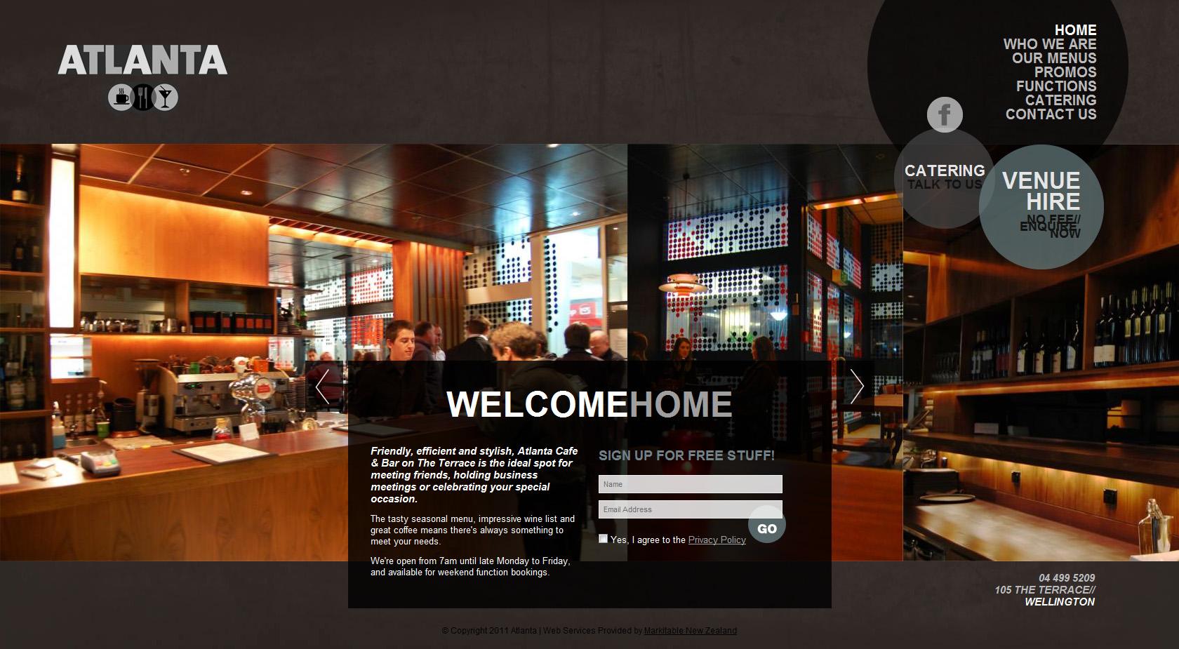 atlanta cafe  u0026 bar