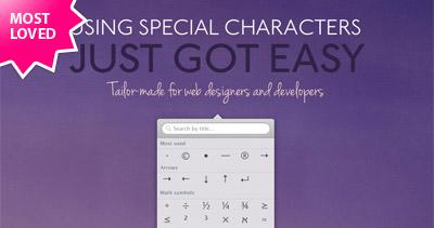 Characters mac app