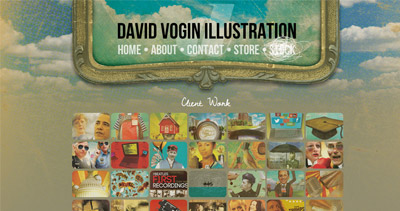 David Vogin Illustration