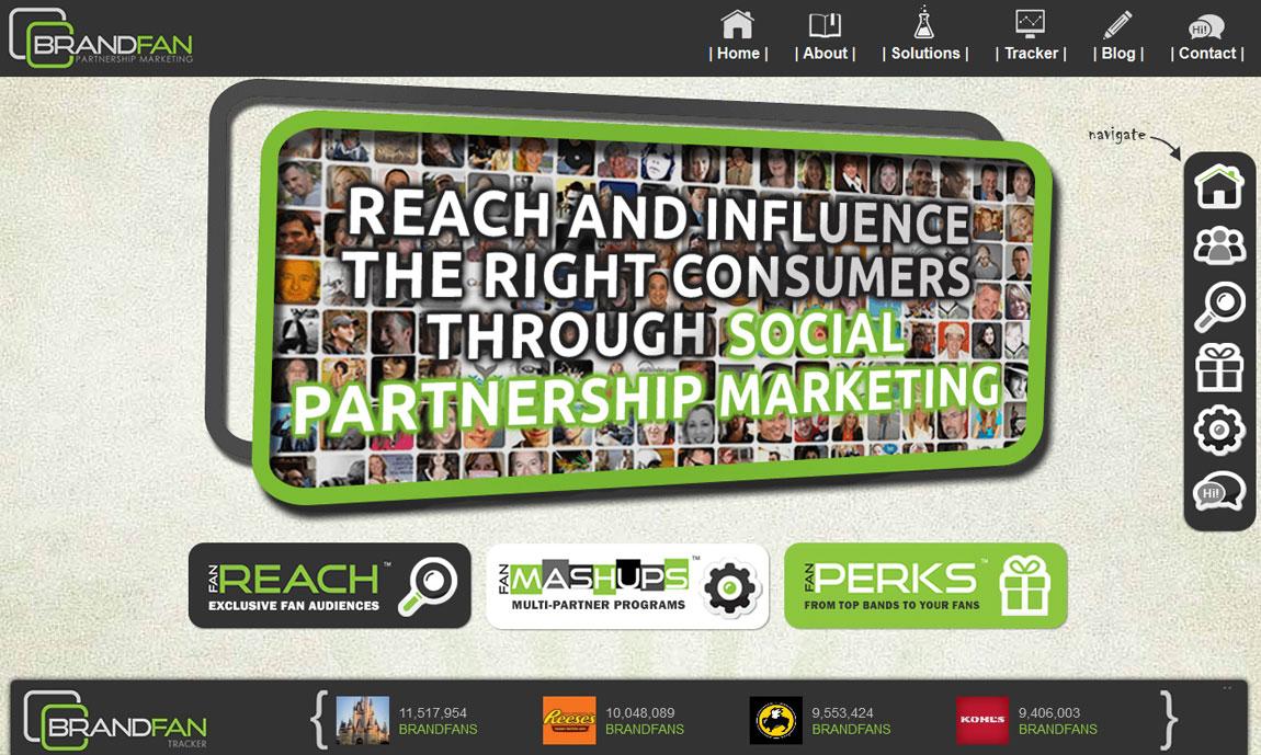 Brandfan Partnership Marketing Big Screenshot