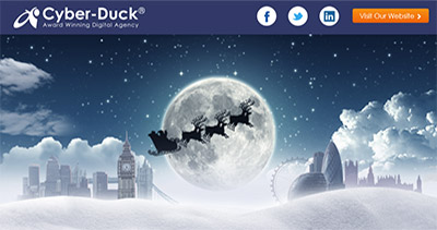 Cyber-Duck Christmas Infographic 2012