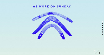 We work on Sunday
