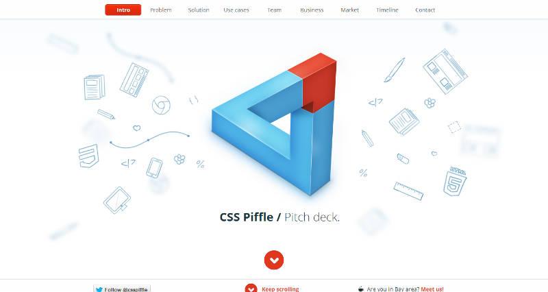 CSS Piffle Pitch Deck
