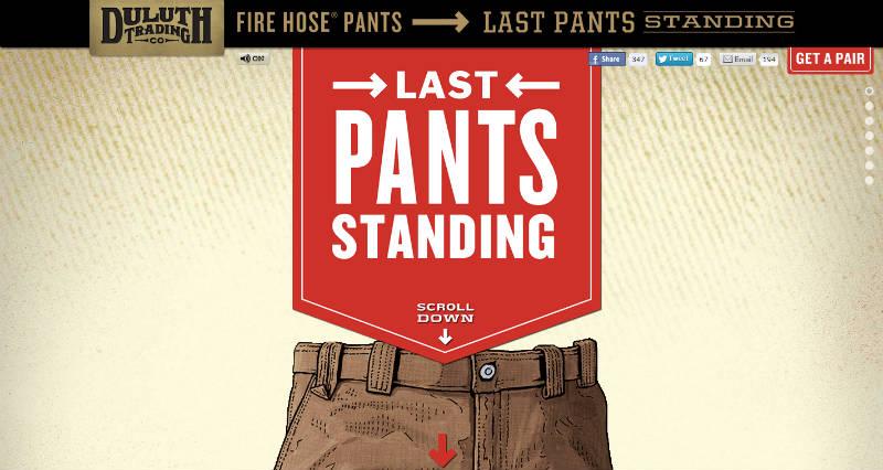Last Pants Standing