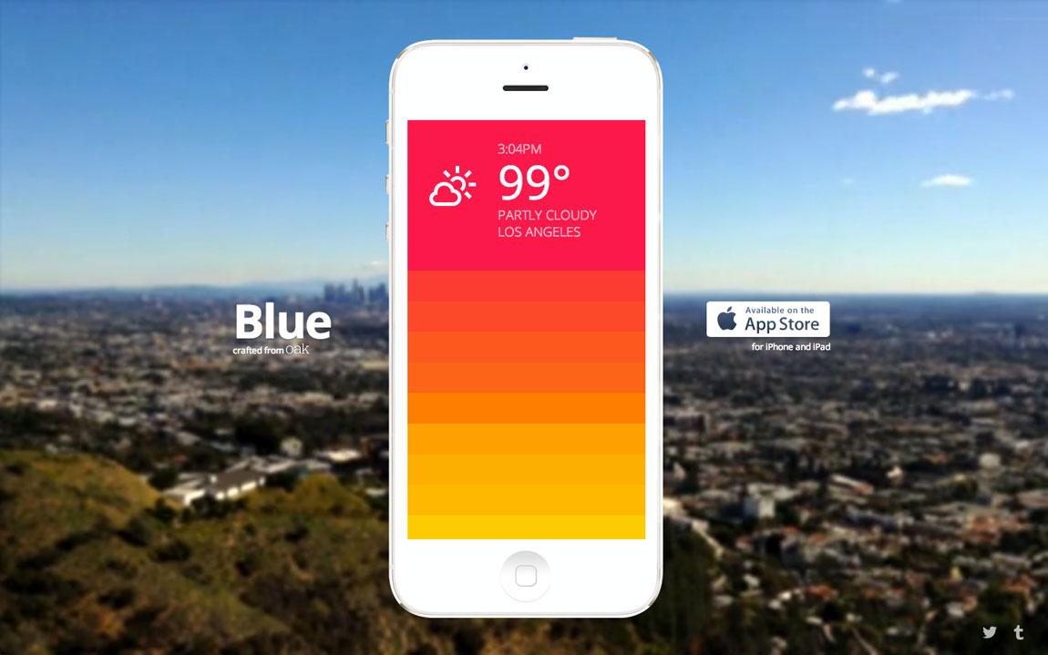 Blue Big Screenshot