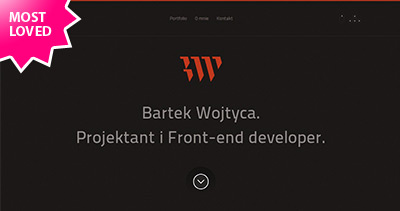 Bartek Wojtyca. Designer & Front-end developer