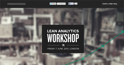 Lean Analytics Workshop