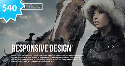 Kutcher Studio - Responsive Parallax WordPress Theme