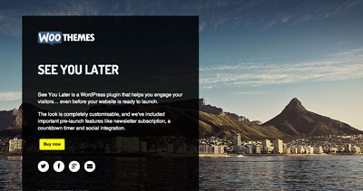 See You Later by WooThemes