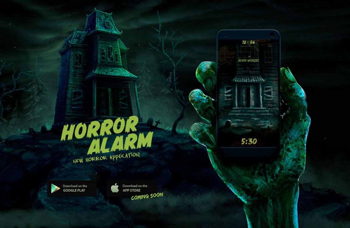 Horror Alarm Big Screenshot