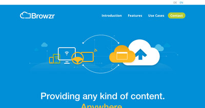 Browzr – Browser in the cloud