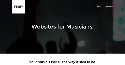 Amp: Websites for Musicians