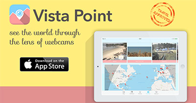 Vista Point - iPad App for Travel enthusiast