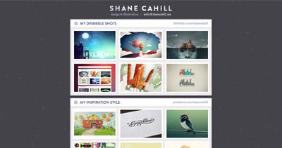 Shane Cahill Portfolio