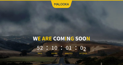 Malooka - Coming Soon Template