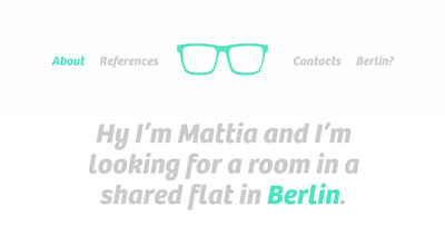 A room in Berlin for me