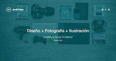 Jordi Pérez · Disseny & Fotografia