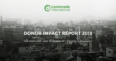 Lemonade International - Annual Report 2013