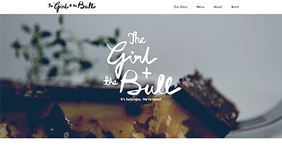 The Girl and The Bull