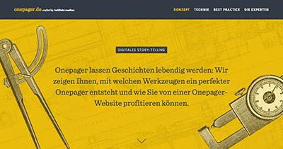 Onepager.de