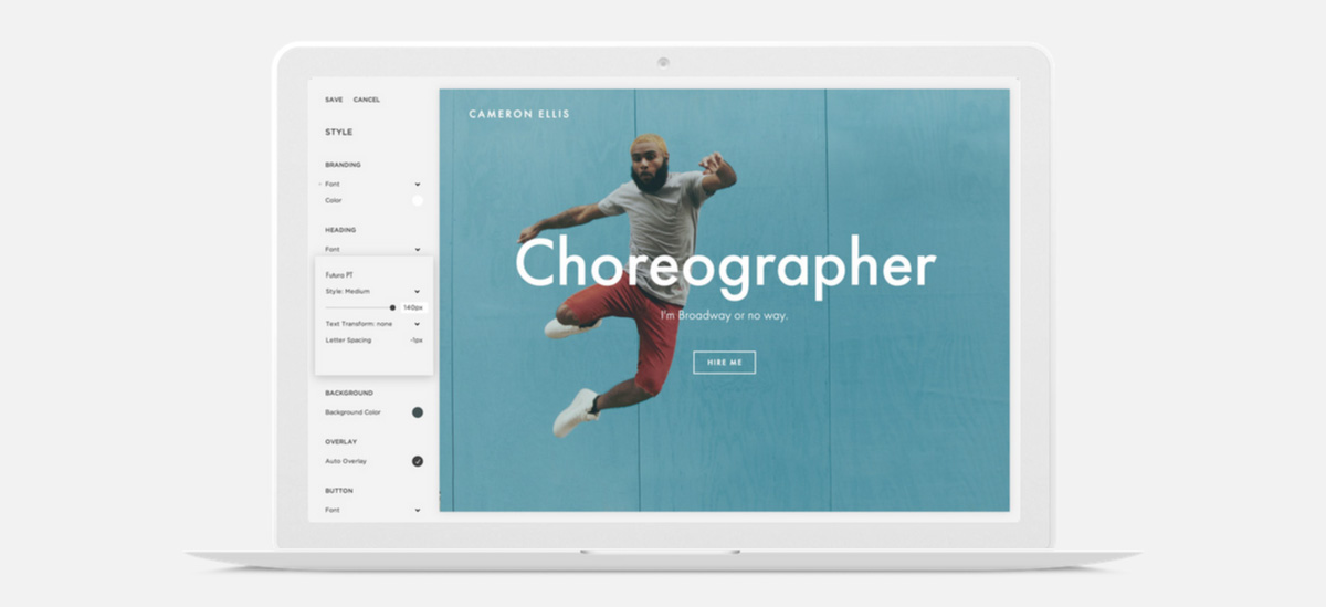 Squarespace Launch Cover Pages A New Range Of Minimal