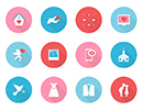 Exclusive Member Download - Free Vector Love Icon Set