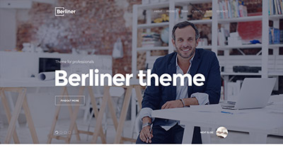 Berliner - Creative HTML5 Bootstrap Template